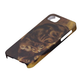 Pierre-Auguste Renoir- Sleeping Cat iPhone 5 Cover