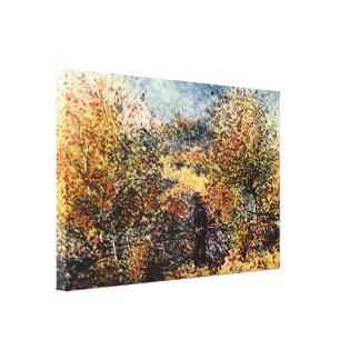 Pierre-Auguste Renoir - Spring Landscape Gallery Wrapped Canvas
