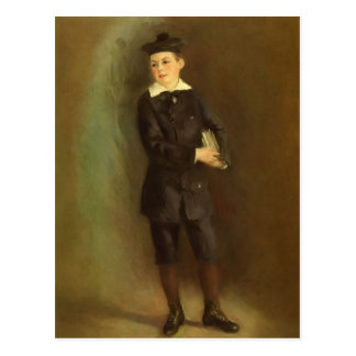 Pierre-Auguste Renoir- The Little School Boy Postcard