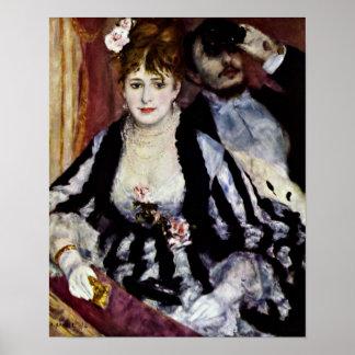 Pierre-Auguste Renoir - The Lodge Poster
