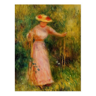 Pierre-Auguste Renoir- The Swing Postcard