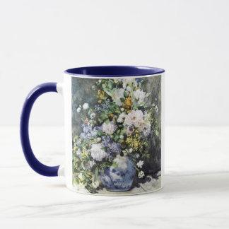 Pierre-Auguste Renoir,  Vase of flowers Mug
