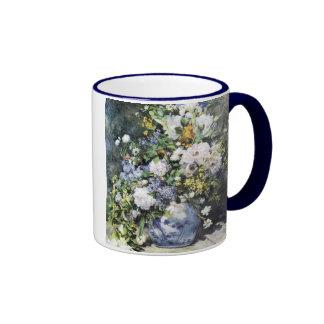 Pierre-Auguste Renoir,  Vase of flowers Coffee Mug