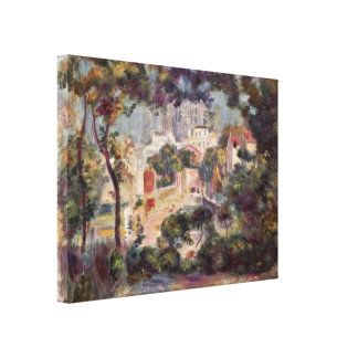 Pierre-Auguste Renoir - View of Sacre-Coeur Gallery Wrapped Canvas