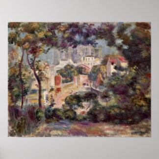 Pierre-Auguste Renoir - View of Sacre-Coeur Posters