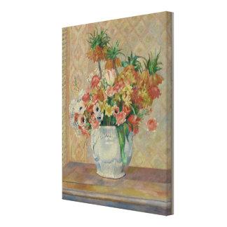 Pierre-Auguste Renoir Vintage Still Life Flowers Canvas Print