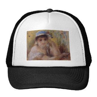 Pierre-Auguste Renoir- Woman in a Straw Hat