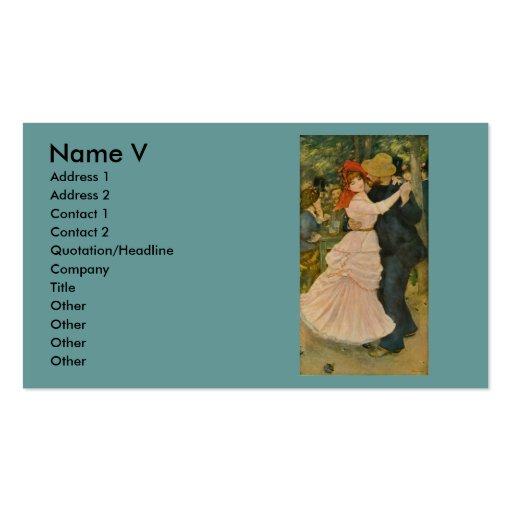 Pierre-Auguste Renoir's Dance at Bougival (1883)
