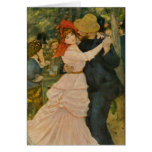 Pierre-Auguste Renoir's Dance at Bougival (1883) Greeting Cards