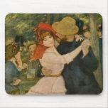 Pierre-Auguste Renoir's Dance at Bougival (1883) Mouse Mat