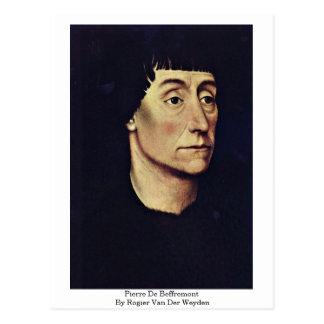 Pierre De Beffremont By Rogier Van Der Weyden Postcard