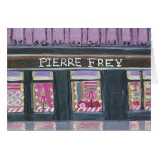 PIERRE FREY : PARIS NOTECARD