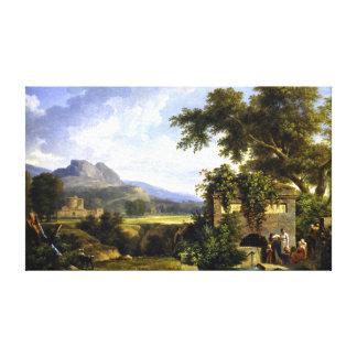 Pierre-Henri de Valenciennes Classical Landscape Canvas Print