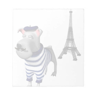 Pierre Pup Notepad