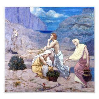 Pierre Puvis de Chavannes The Shepherd's Song Photo Print