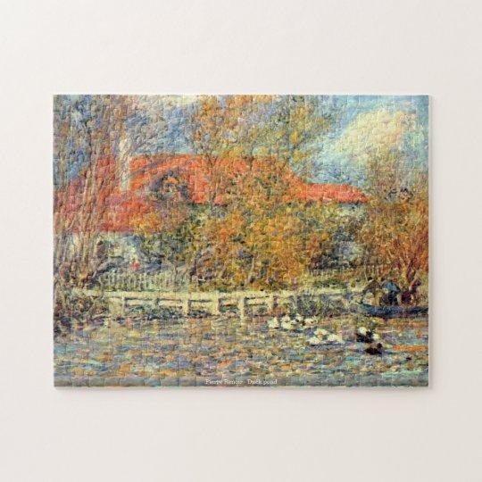 Pierre Renoir - Duck pond puzzle