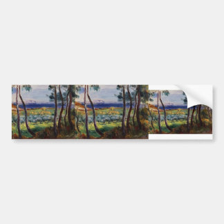 Pierre Renoir- Pines in the Vicinity of Cagnes Bumper Sticker