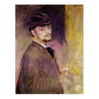 Pierre Renoir- Self-Portrait at Age of Thirty Five Postcard
