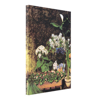 Pierre Renoir - Spring flowers Gallery Wrapped Canvas