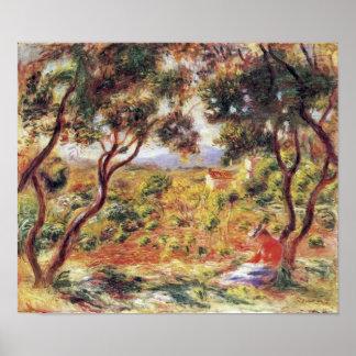 Pierre Renoir - Vines at Cagnes Posters