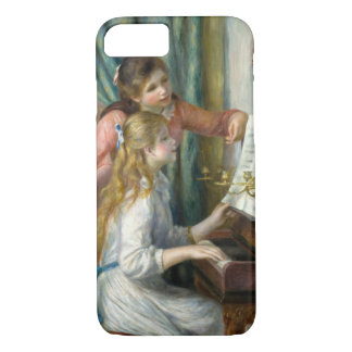 Pierre Renoir - Young Girls at Piano iPhone 7 Case