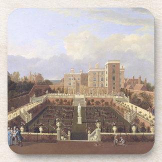 Pierrepont House, Nottingham, c.1708-13 (oil on ca Coaster