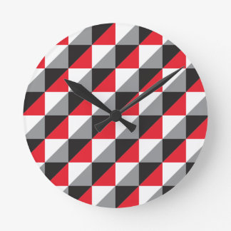 Pierrodress_red.ai Round Clock