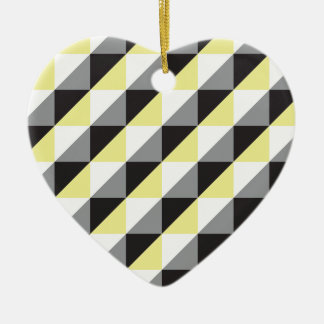Pierrodress_yellow Ceramic Heart Decoration