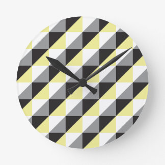 Pierrodress_yellow Round Clock