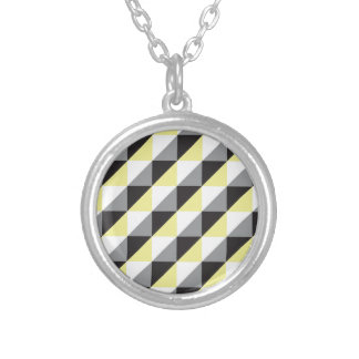 Pierrodress_yellow Silver Plated Necklace