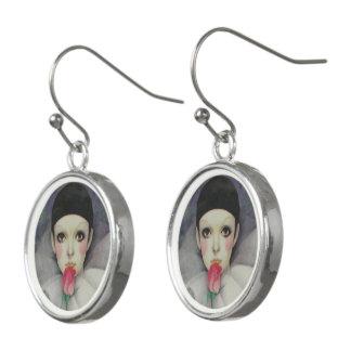 Pierrot 1980s earrings
