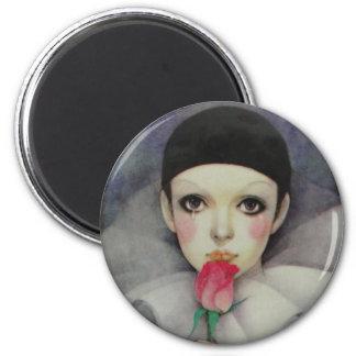 Pierrot 1980s magnet