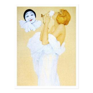 Pierrot's Dream - from the Pierrot's Love Series Postcard
