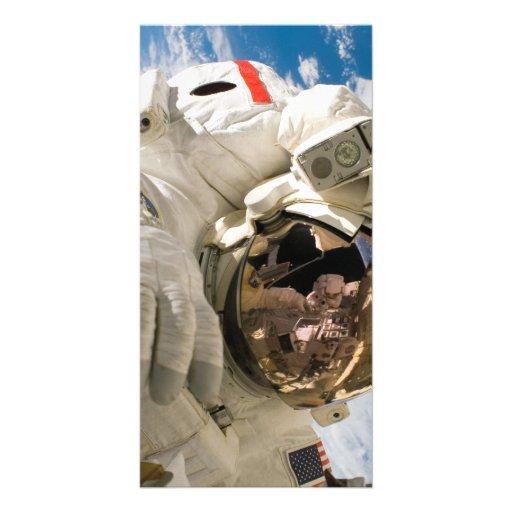 Piers Seller Spacewalk Photo Card