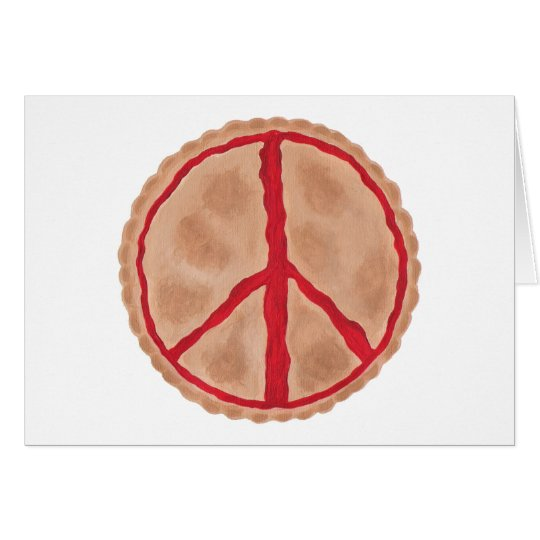 Pies for Peace cherry peace pie cards
