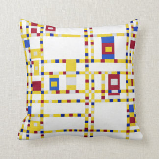 Piet Mondrian Broadway Boogie Woogie Cushion