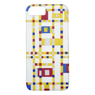 Piet Mondrian Broadway Boogie Woogie iPhone 8/7 Case