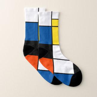 Piet Mondrian Composition A - Abstract Modern Art 1