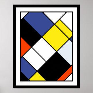 Piet Mondrian Composition A Posters