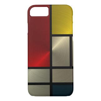 Piet Mondrian Composition (Goldl) iPhone 8/7 Case
