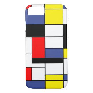 Piet Mondrian Minimalist iPhone 7 Case