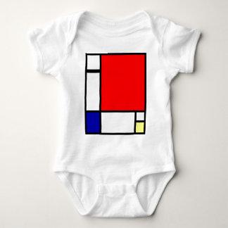 Piet Mondrian - Neoplastic Art Baby Bodysuit