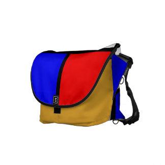 Piet Mondrian style Messenger Bag