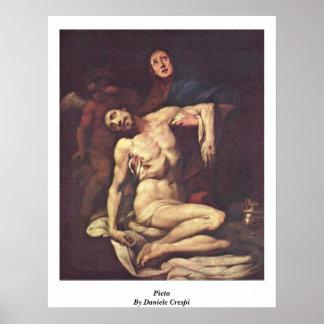 Pieta. By Daniele Crespi Poster