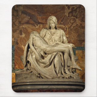 Pieta by Michelangelo Mouse Pad