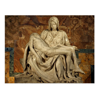 Pieta by Michelangelo Postcard