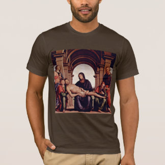 Pietà By Perugino Pietro (Best Quality) T-Shirt