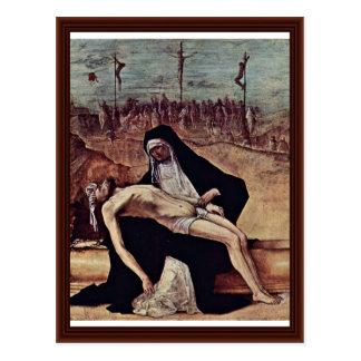 Pieta By Roberti Ercole De Post Cards