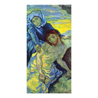 Pieta  by Vincent van Gogh Picture Card
