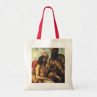 Pieta, Giovanni Bellini, Religious Renaissance Art Bag
